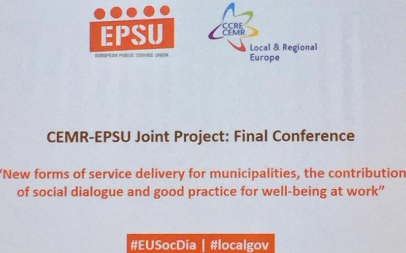 EPSU CEMR Final Conference Barcelona 14 November 2017