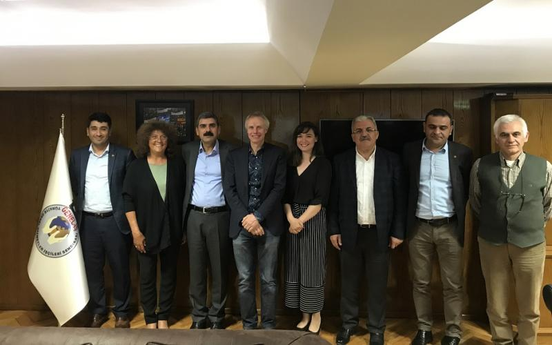EPSU General Secretary meeting with Genel-IS, Ankara, 2 May 2017