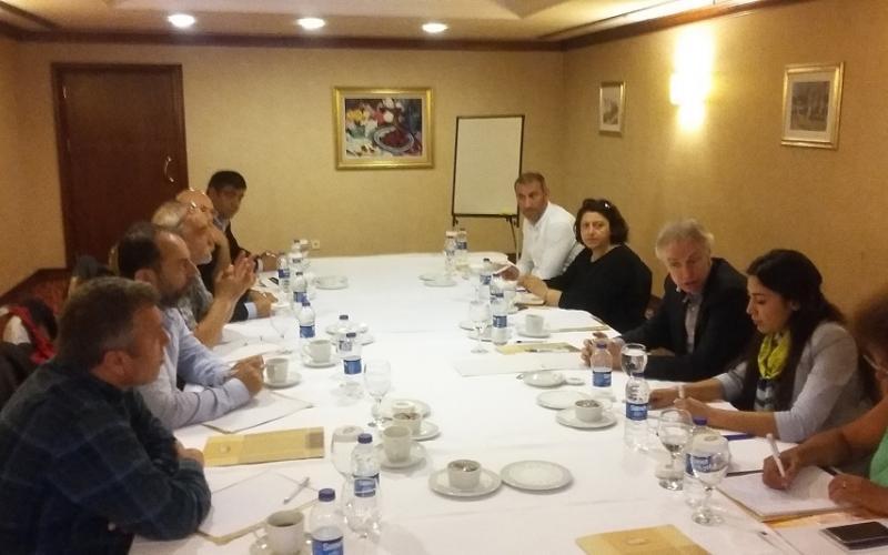 EPSU GS meeting with representatives of SES, Tumbel-Sen, Yapiyol Sen, BES, Energija-Sen (DISK) and Devremci Saglik IS, Ankara, 3 May 2017