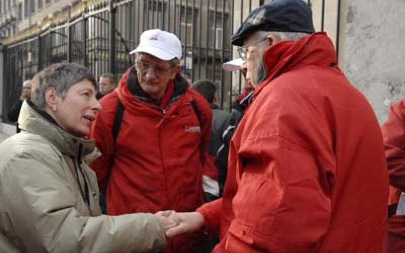 EPSU President talks to Belgian Union reps
