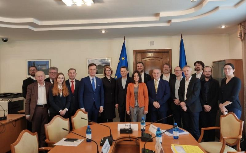 ETUCITUC delegation meeting with the deputy chair of the EU-integration committee Ukrainian Parliament 25022020