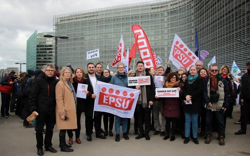 ETUC Gender pay gap action 25 February 2020 Brussels