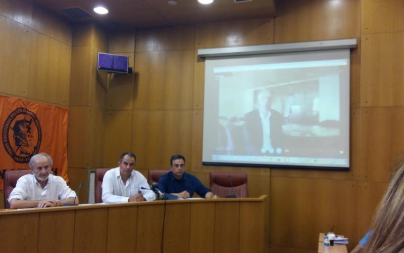 Greek energy union GENOP DEI press conference June 2016
