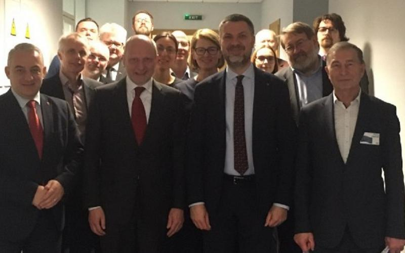 ETUC-ITUC delegation meeting with EU ambassador Ukraine 25.02.2020