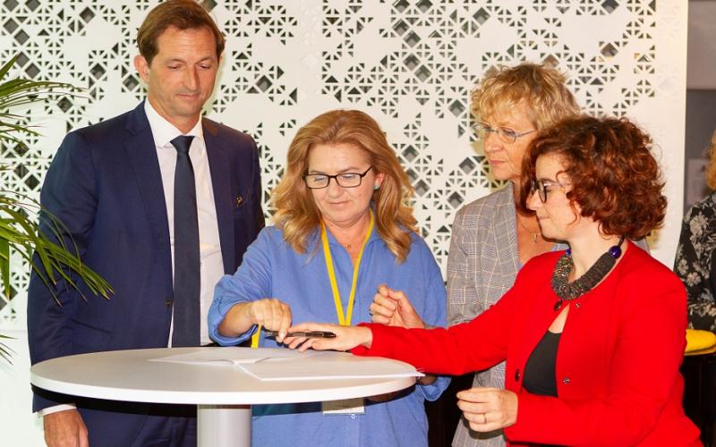Signature of Gender Equality Agreement renewal - SUEZ, September 2019