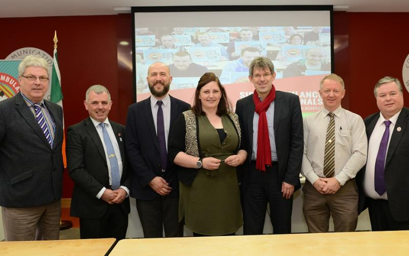 SIPTU Seminar for Ambulance Staff and Paramedics, 6 April 2018, Dublin