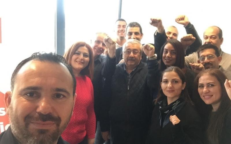 KTAMS & EPSU General Secretary selfie, 17 March 2017