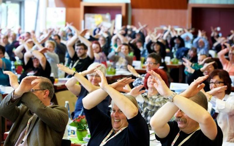 Ver.di members say NO to CETA and TTIP
