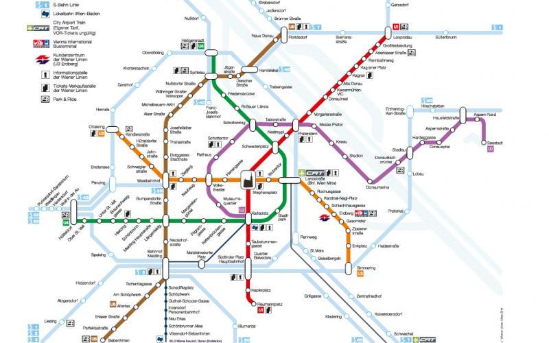 map public transport Vienna