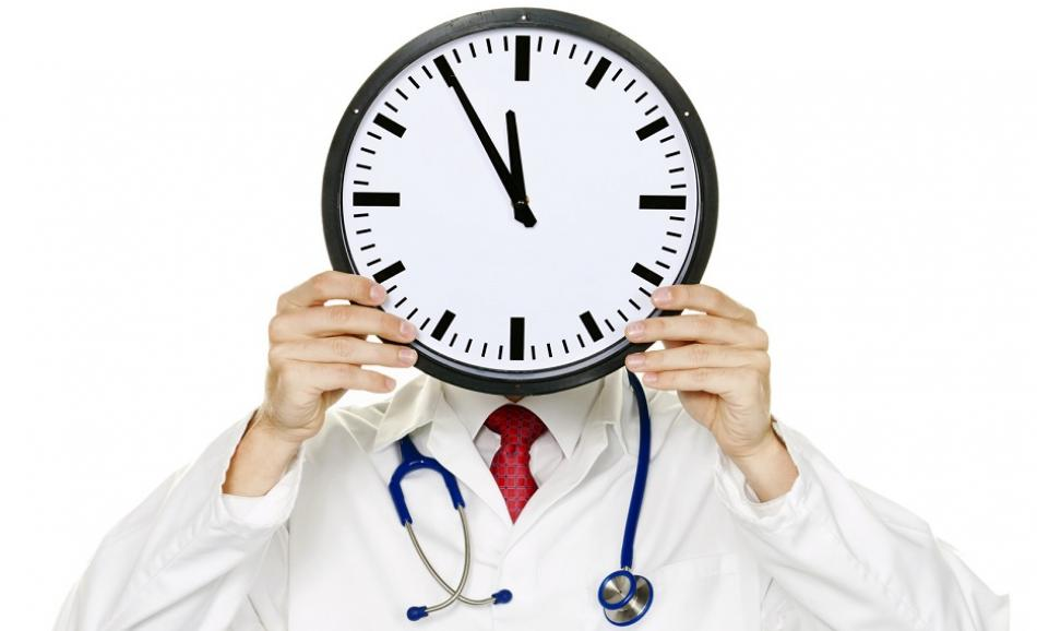 © Can Stock Photo  gina_sanders doctor with clock