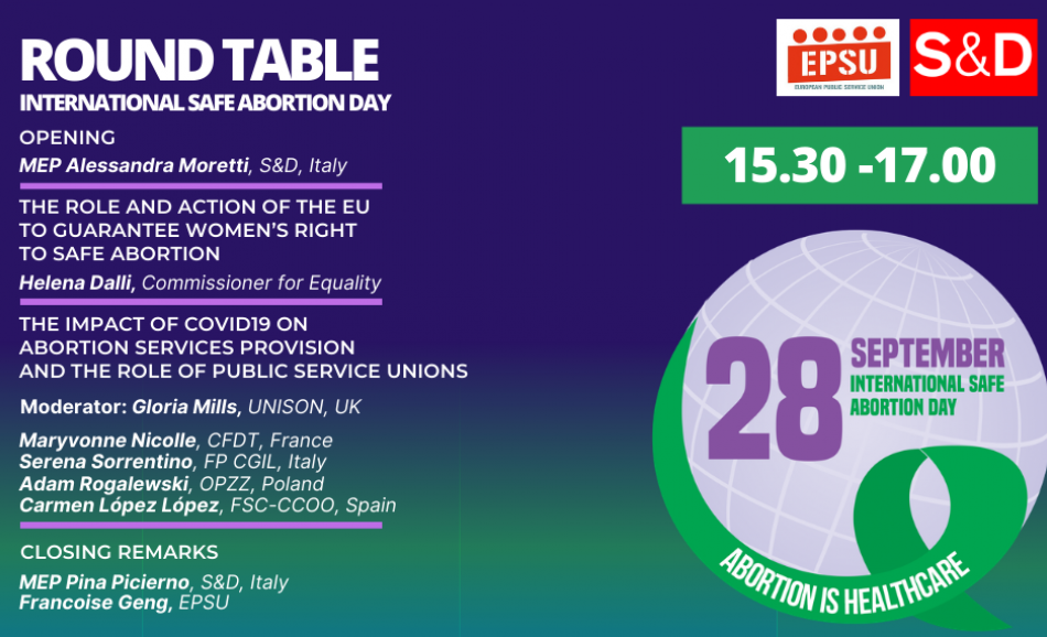 Safe abortion day round table 28 September 2020