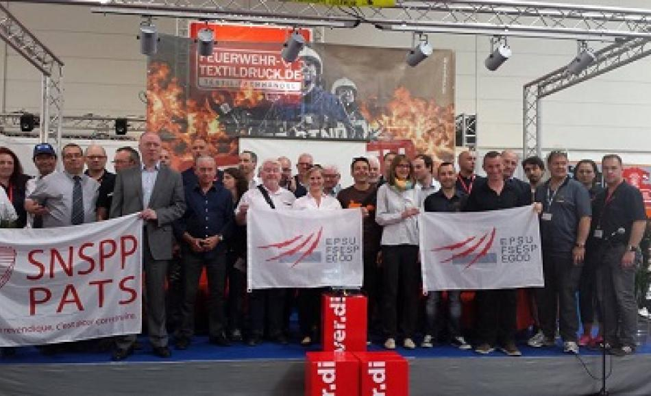 EPSU Firefighters Network meeting in Hannover, June 2015