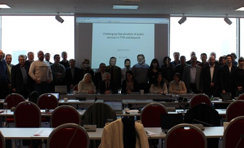 Training seminar Vienna EPSU ETUCE AK ÖGB_2015.01.15-16
