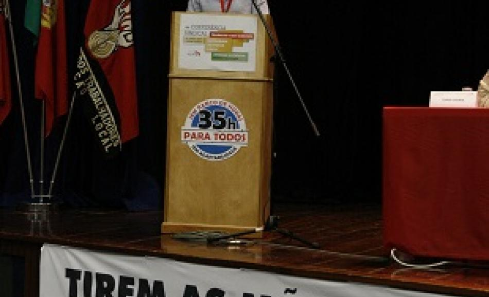 19 June EPSU General Secretary speaking at STAL Conference, Lisbon, 19 June 2015