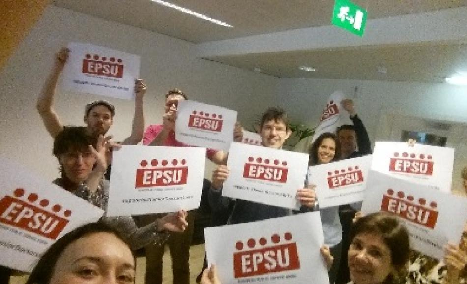 EPSU supports Junior Doctor strikes UK