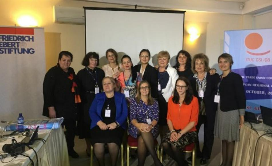 4th PERC Women conference in Tbilisi, Georgia, 20 October 2016.