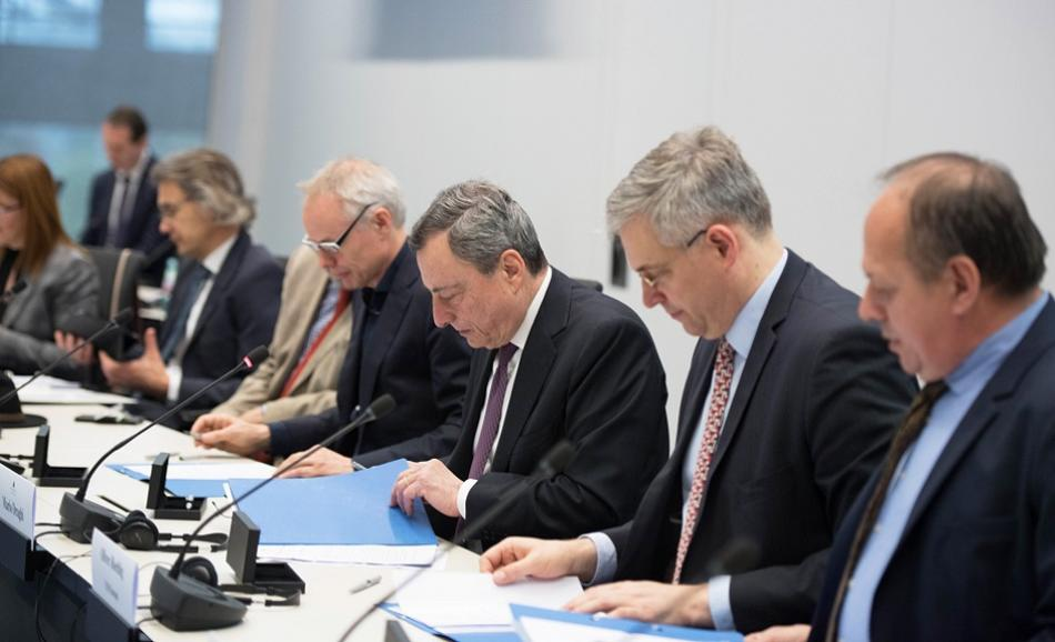 2019-04-03 Signing of the amendments to the ESCB Social Dialogue agreement