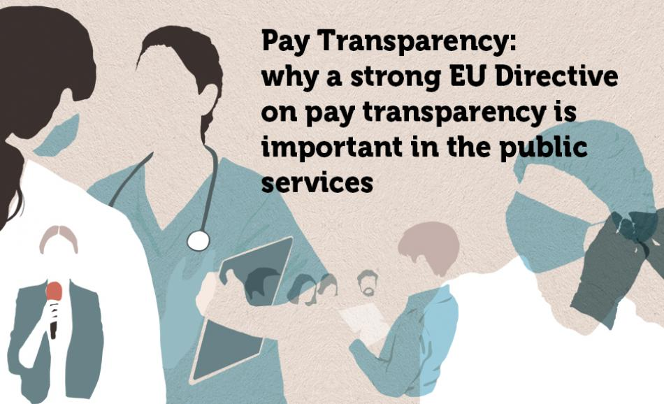 8 March 2021 Pay Transparency EPSU logo
