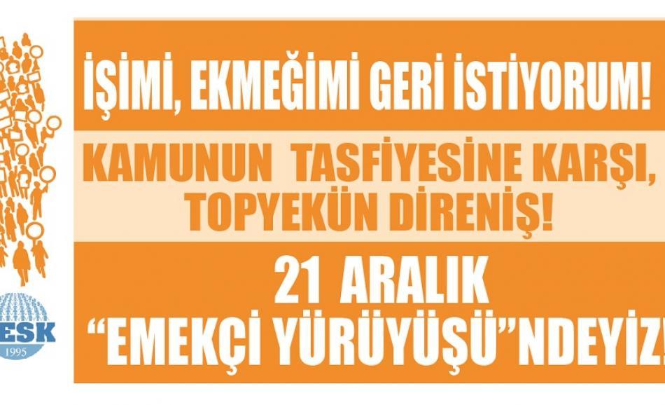 Turkish national protest 21 December 2016