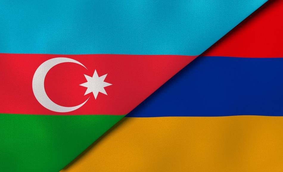 Armenia Azerbaijan flags ©CanStockPhoto MaksymKapliuk