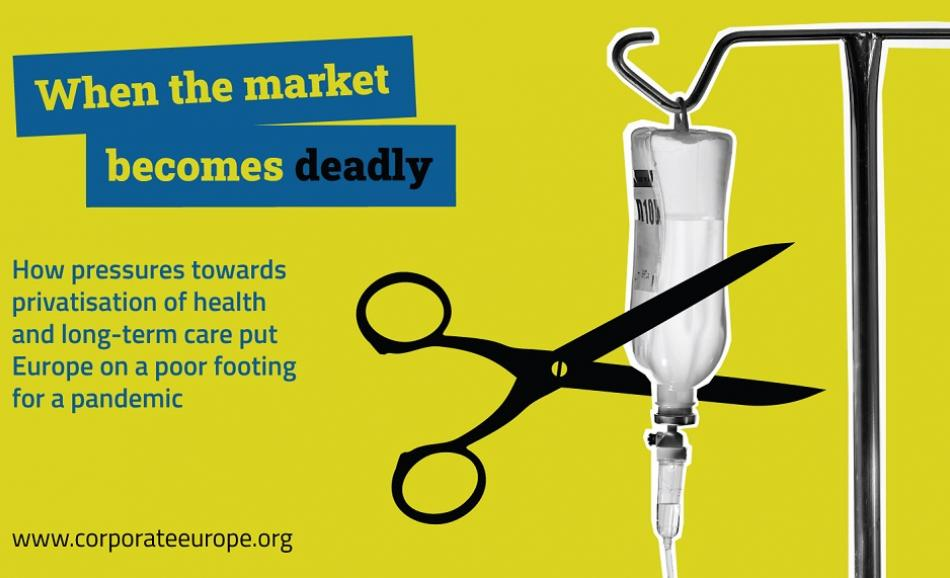 Corporate Europe Observatory report Health Care
