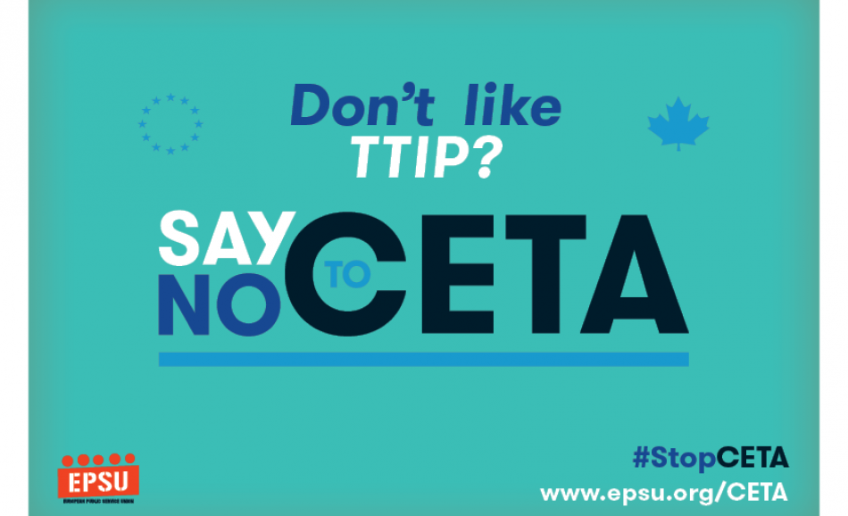 Don't like TTIP ? Say no to CETA