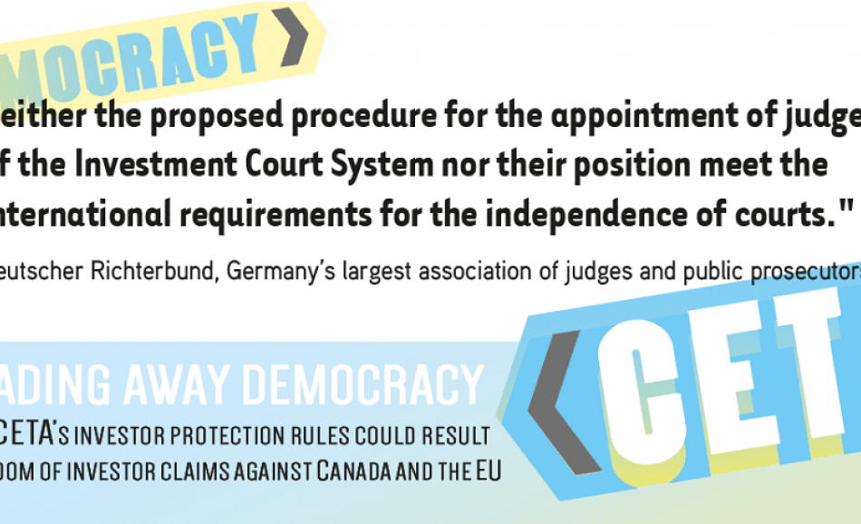 CETA trading away democracy report 2016