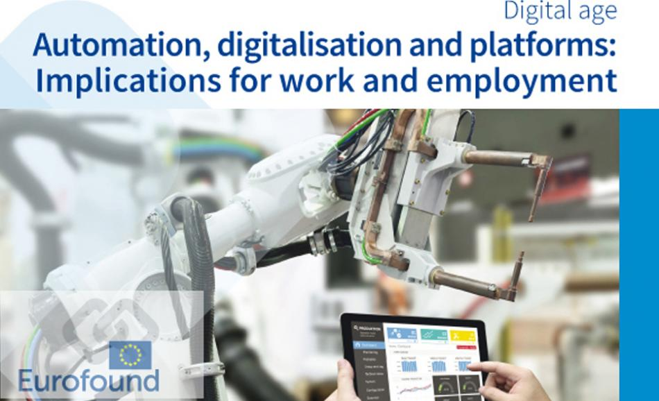 Cover Eurofound Report Digitalisation July 2018