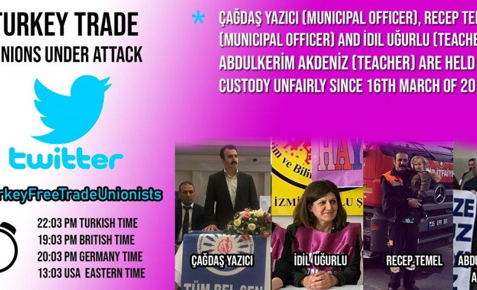 Trade Unionists Turkey
