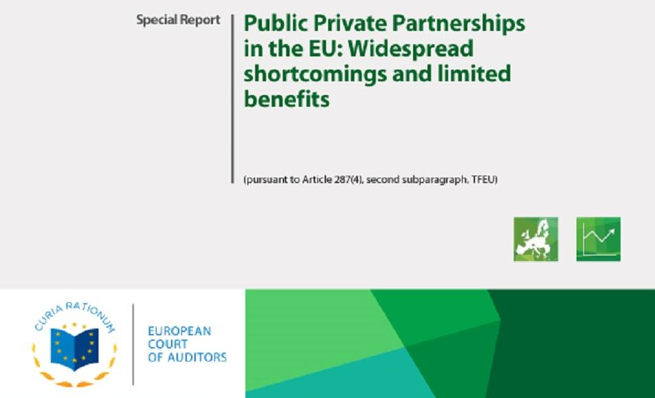 ECA report PPPs in the EU - cover