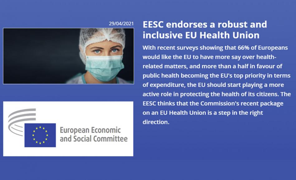 EESC Health Union