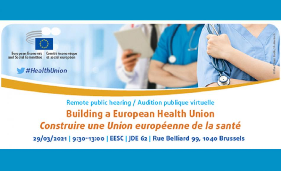 EESC Building a european health union