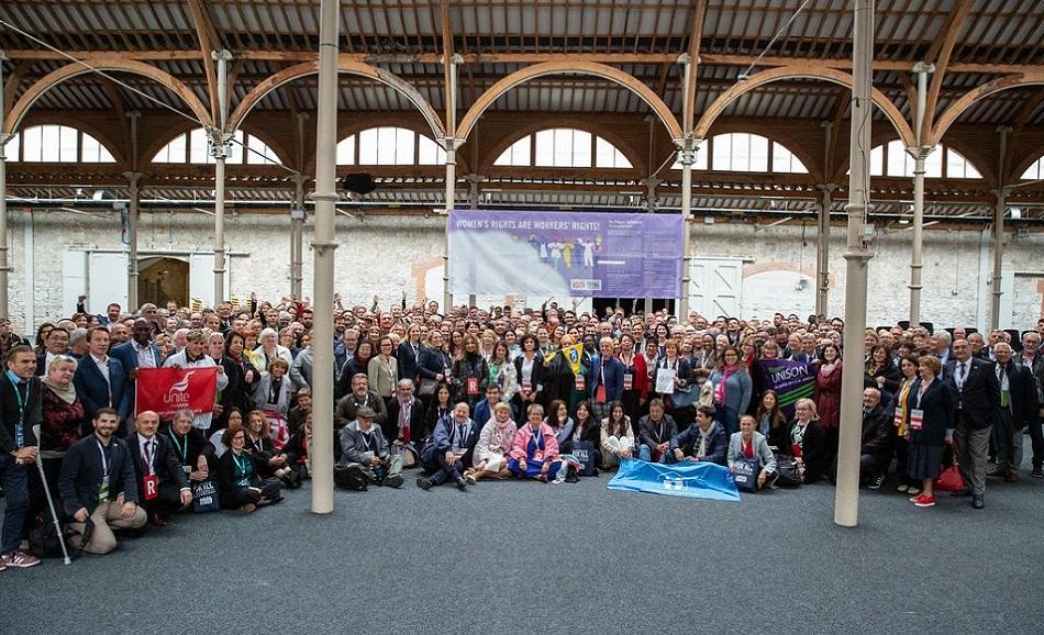 Participants at EPSU Congress June 2019 Dublin