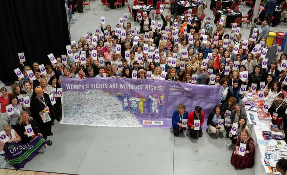 EPSU Congress June 2019, Dublin Women's rights