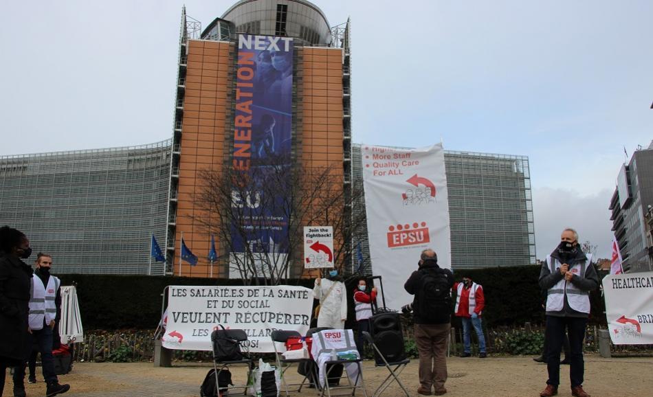 EPSU Health Action week Brussels 29 October 2020