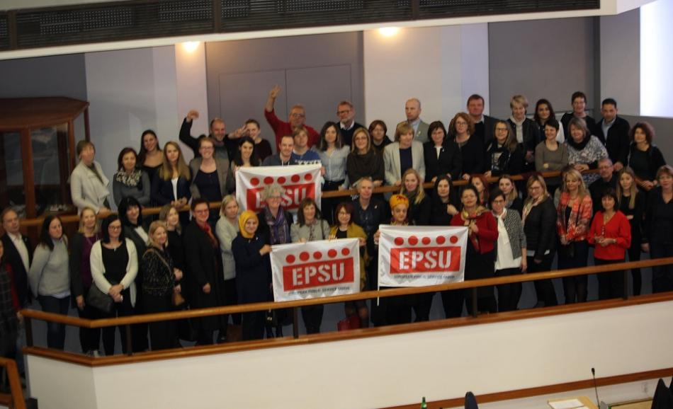 EPSU Women & Gender Equality Conference 2018 Prague