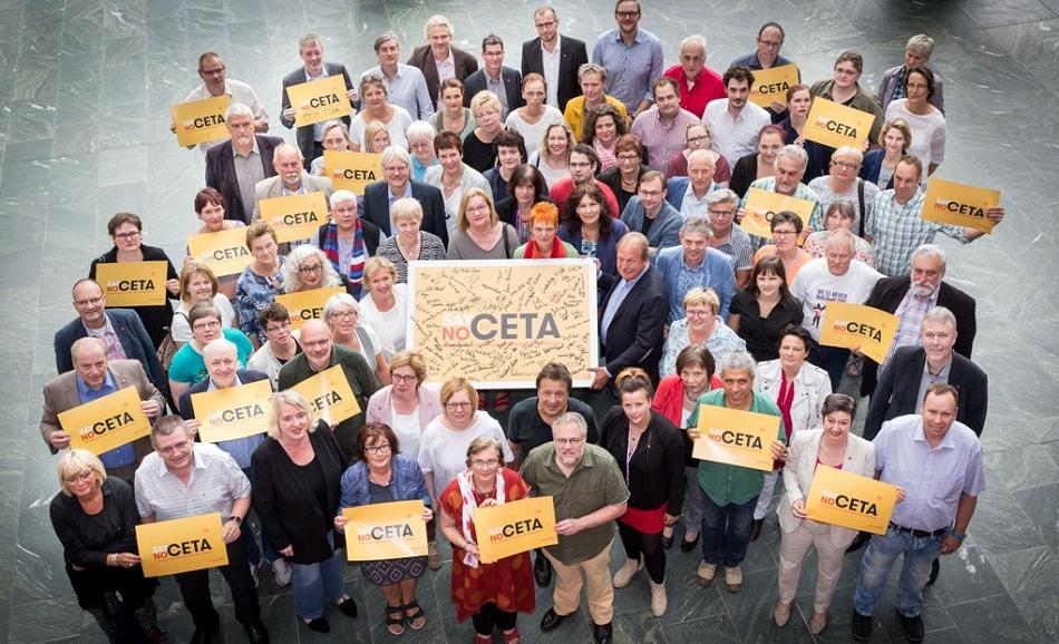 EPSU German affiliated union Ver.di says No to CETA !