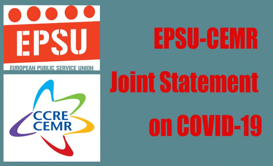 EPSU CEMR JOINT STATEMENT COVID 19