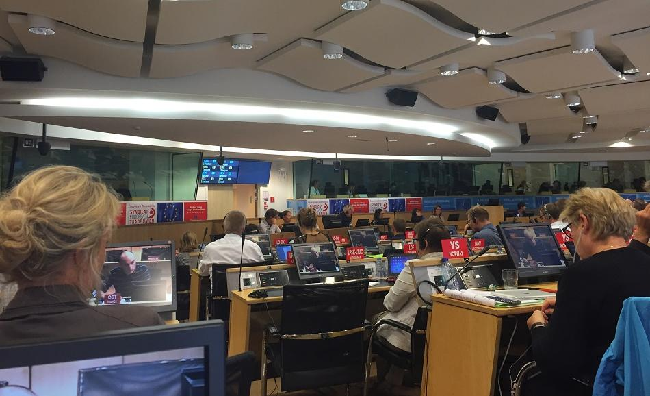 ETUC Extraordinary Executive Committee 6 September 2016, Brussels