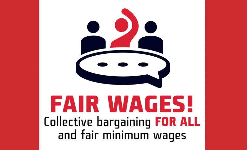 ETUC logo Fair Minimum Wages 2021