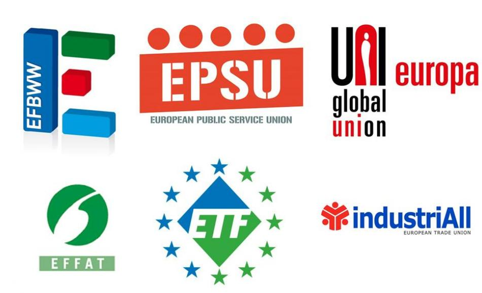 ETUFs logo joint recommendations Brexit multinational companies