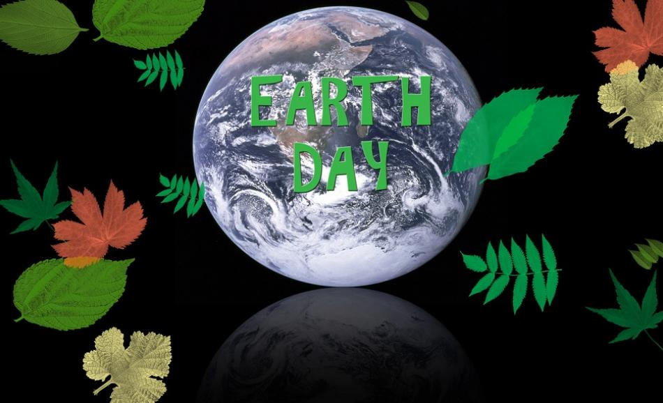Earthday with greenleaves ©CanStock Photo njene