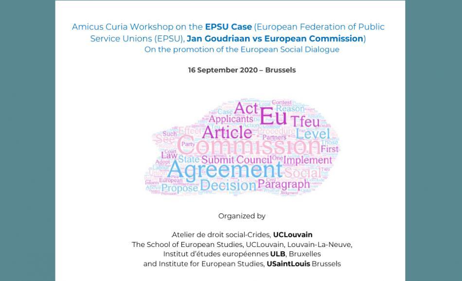 EXPERT webinar EPSU CASE
