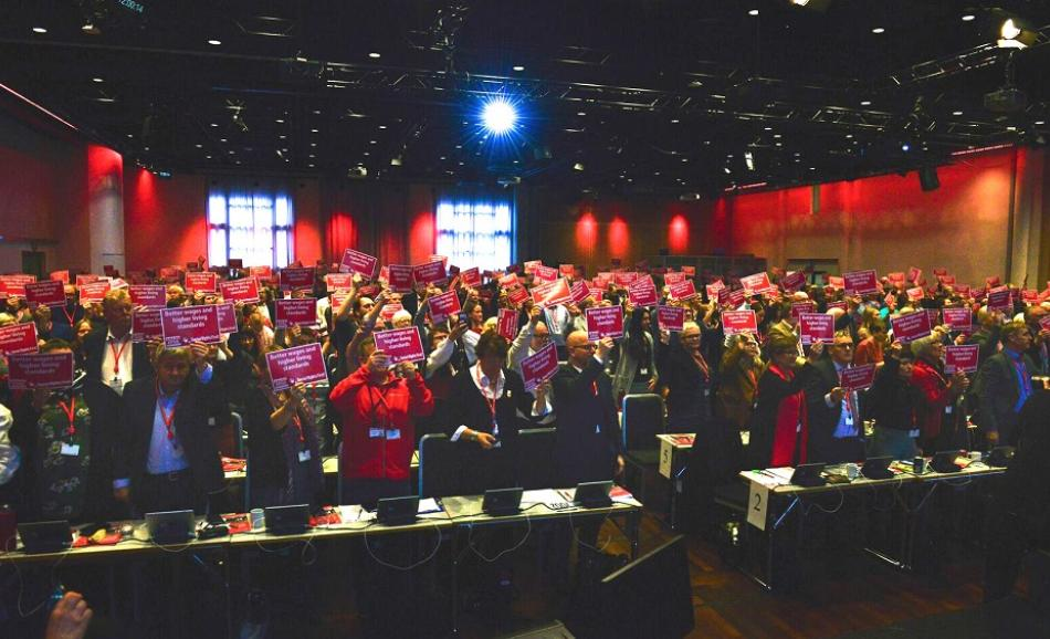 Fagforbundet Congress, 16 October 2017, Oslo, Norway