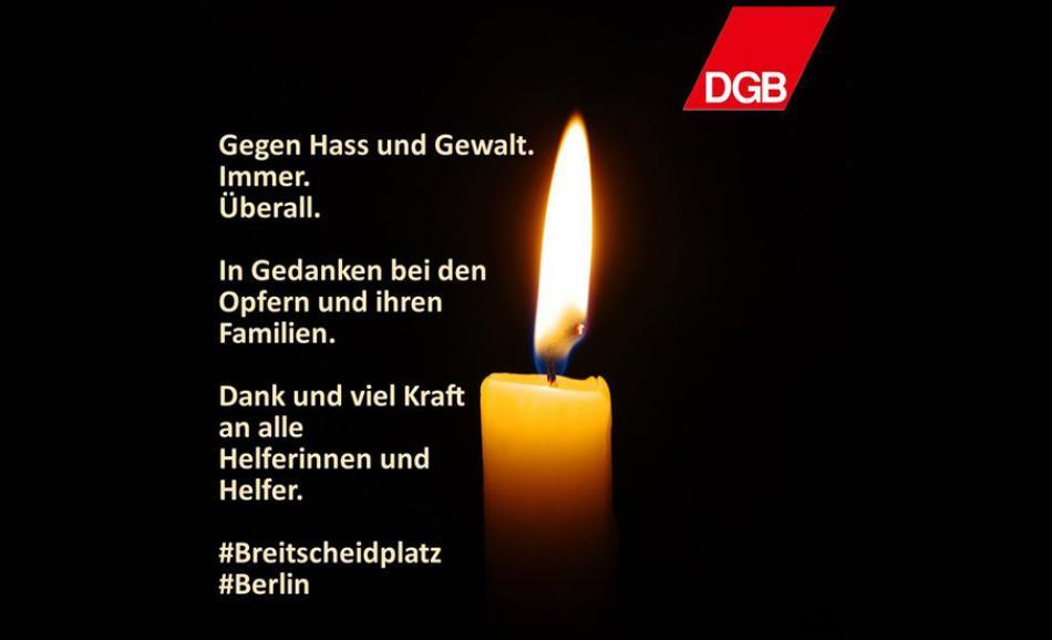 #Berlin:  condolences and solidarity