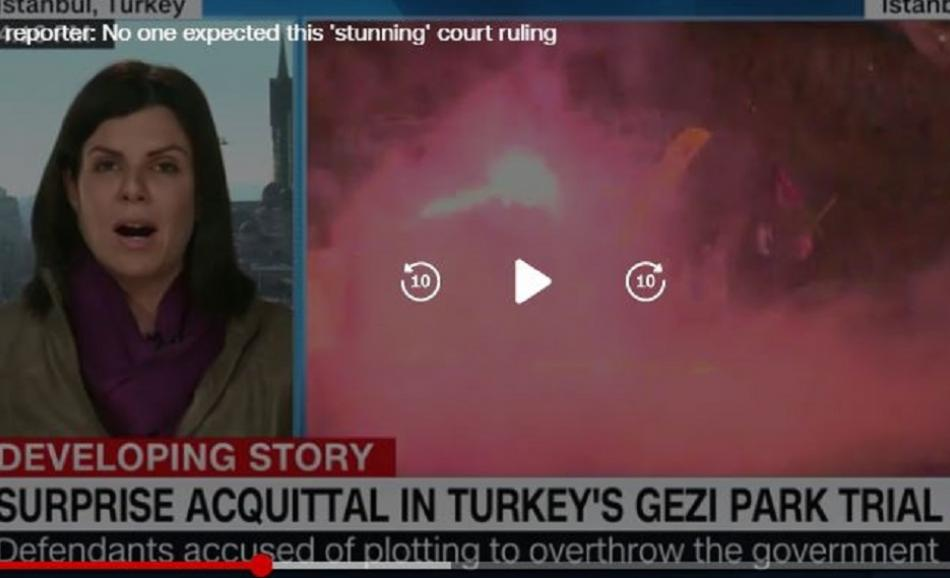 CNN news surprise acquittal in Turkey's Gezi Park trial