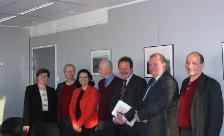 Joint EPSU-PSI delegation with EU Trade Commissioner Pascal Lamy