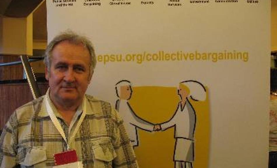 Juris Kalnins of LAKRS, LATVIA at congress