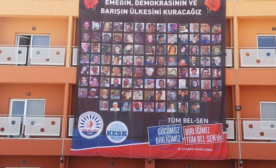 Congress TumBel-Sen KESK, Ankara Turkey, May 2017