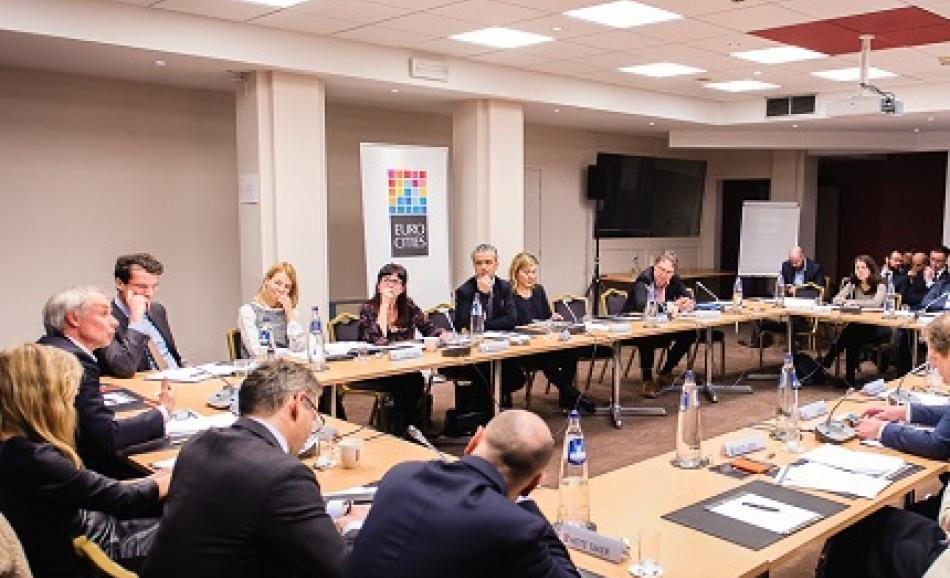 22 February 2016, EUROCITIES High Level Round Table, Brussels
